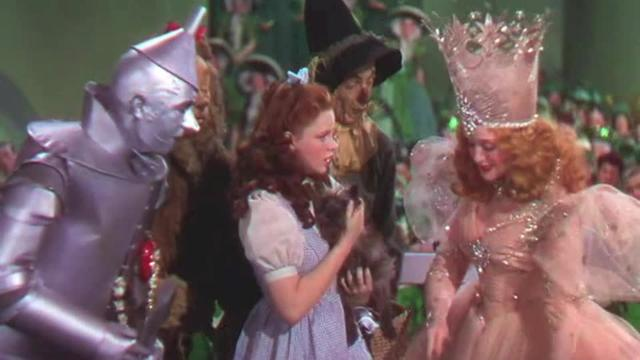 The Gold and Silver Standard in the Wizard of Oz.