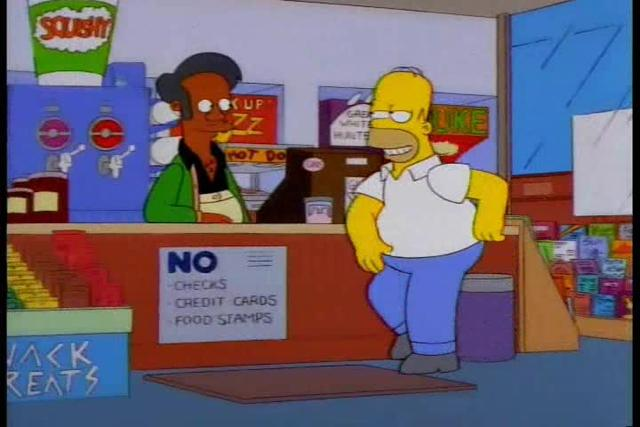 Homer Simpson doesn't understand opportunity cost