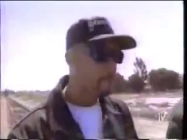 "Example of a libation in music video ""Gangsta Lean"" by DRS (1993) [excerpt]"