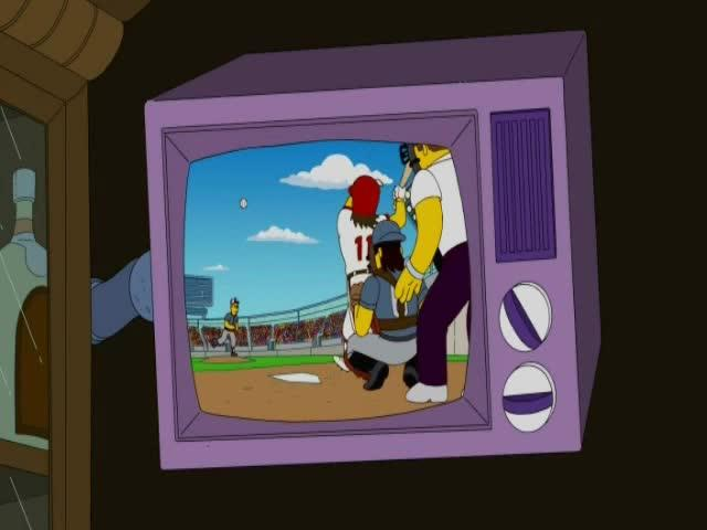 The Simpsons and Sabermetrics