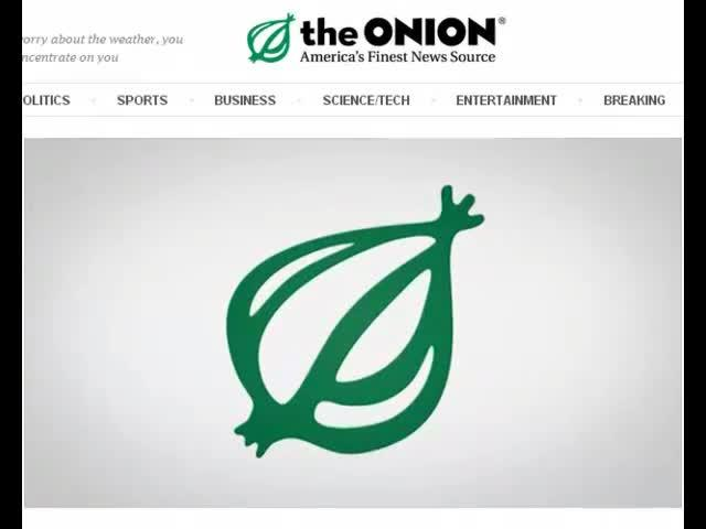 The Onion and the definition of economics