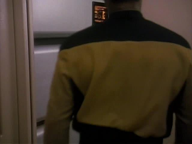 TNG S3E21: Hollow Pursuits - Holodeck Scene
