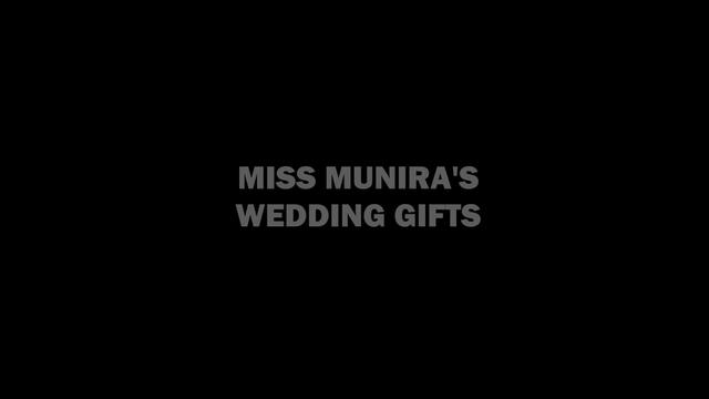 Ms. Munira's Wedding Gifts: Trolling Uyghur Elites