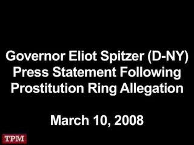 Spitzer Apology