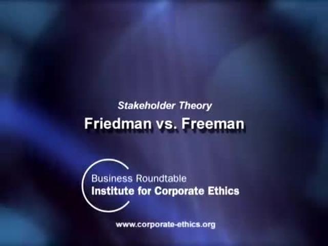 EoE: 2.4.C - Shareholders vs. Stakeholders