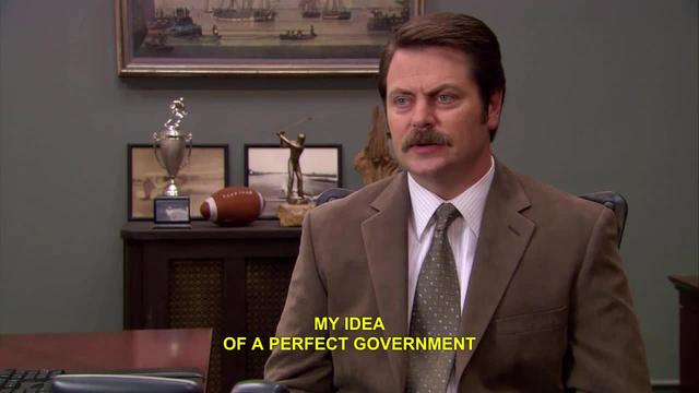 Parks and Recreation: The Perfect Government