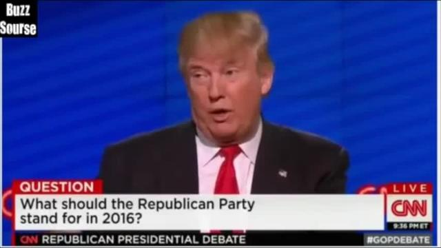 Donald Trump Misdefines Discouraged Workers During GOP Debate