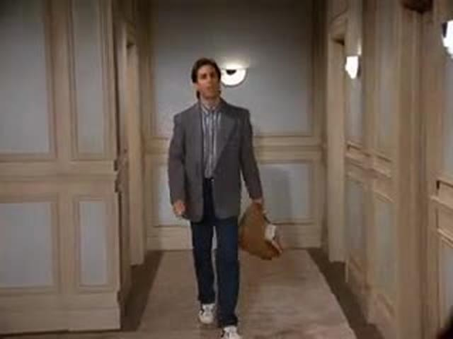 Seinfeld -- The Suicide -- Trash Scene