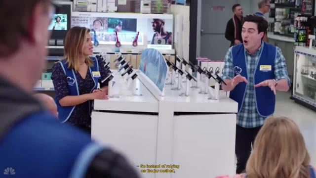 Superstore -- Healthcare at work