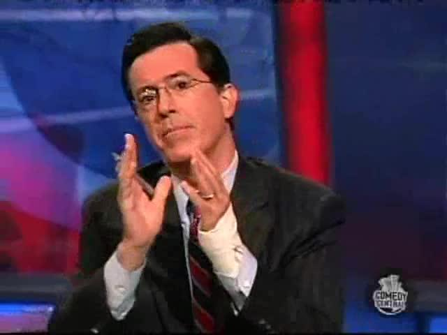 Colbert Report: College Credit