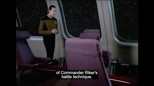 Star Trek -- Data Overanlyzes