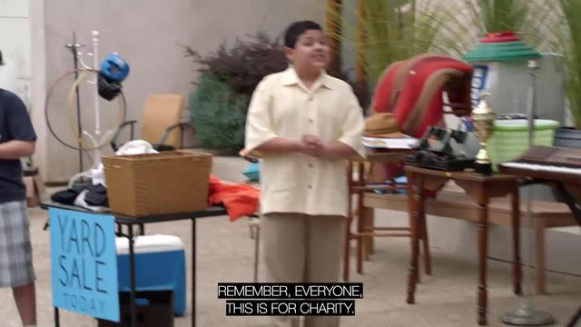 Modern Family: Framing a Yard Sale
