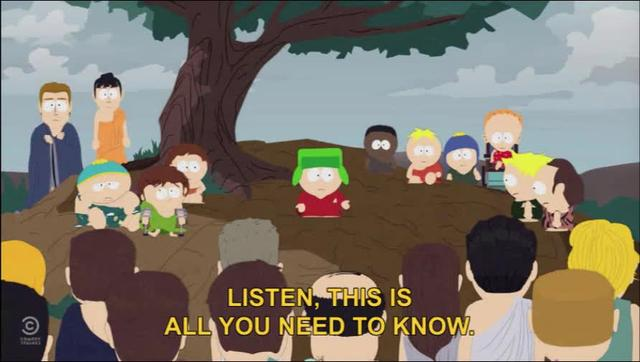 South Park -- Invisible Hand