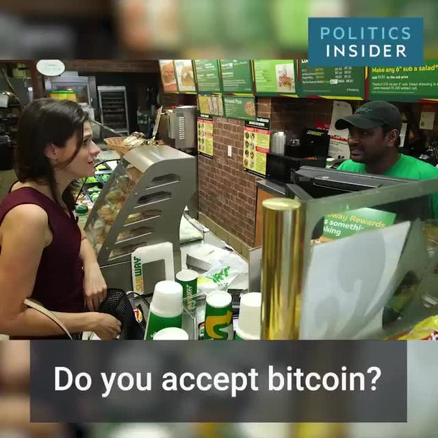 Business Insider -- Paying with Bitcoin/Gold