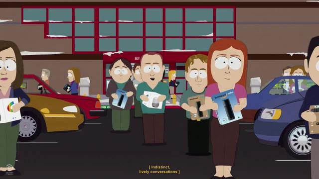 South Park -- Alexa is stealing jobs