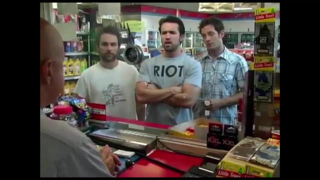 Always Sunny -- Where it Hurts