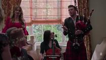 Modern Family:  Bagpipes at a wedding