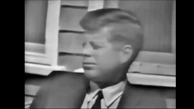 CBS TV Interview -- JFK Discusses Unemployment