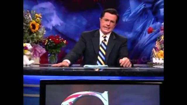 The Colbert Report:  Evan Osnos