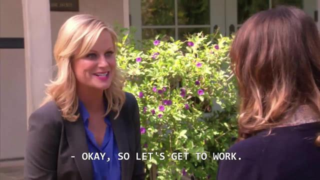 P&R: Leslie is a workaholic