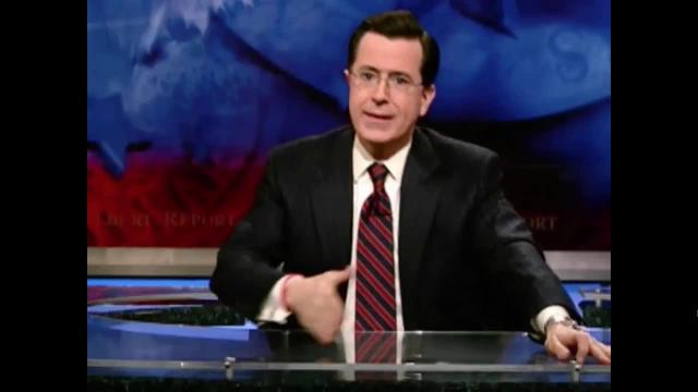 The Colbert Report -- Tim Harford