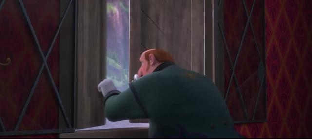 Door motif in Disney's Frozen