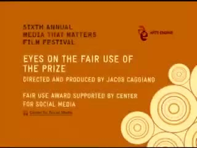 Eyes on the Fair Use of the Prize