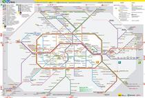Berlin Public Transportation Map