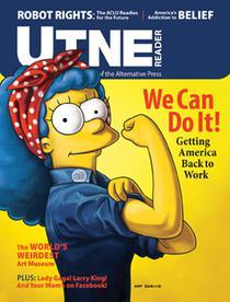 UTNE Magazine Cover Jan-Feb 2011