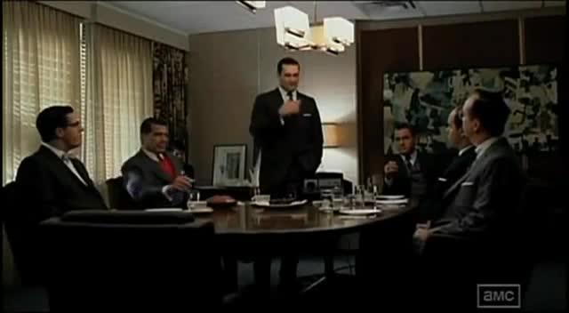 Don Draper Presents Facebook Timeline