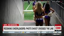 NFL cheerleaders: Topless photo shoot crossed the line