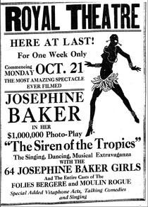 Advertisement for The Siren of the Tropics