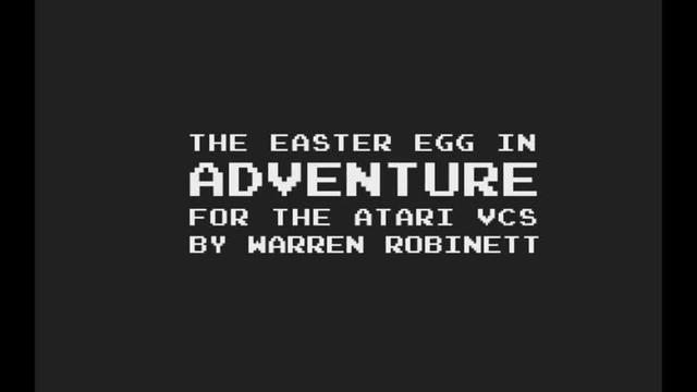 "Atari Game ""Adventure"""