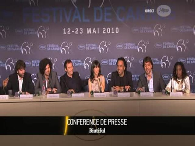 Biutiful interview at Cannes