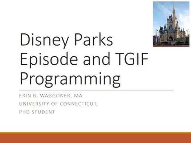 TGIF and Disney