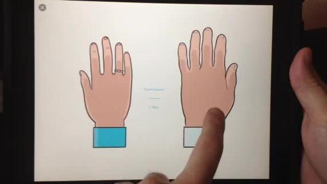 Touch Sensitive iPad Comic