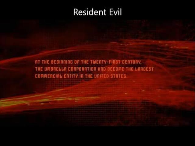 Resident Evil Clip Reel