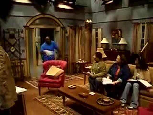 Meet the Brown's TV show Rehearsal in Studio