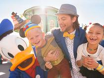Donald Duck and A Super Fun Family
