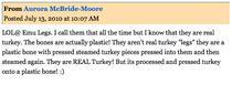 Aurora McBride Moore Comment