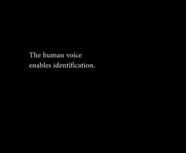 Sound and Silence in Zyklon Portrait (Elida Schogt, 2000)