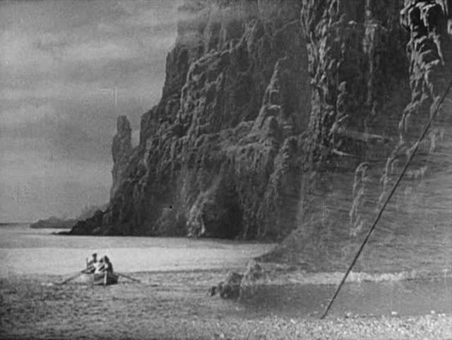 FILM: Son of Kong - Rowboat Rear Projection