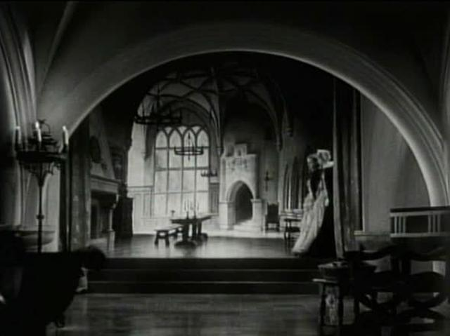 FILM: Unidentified Clip #1 - Castle Rear Projection