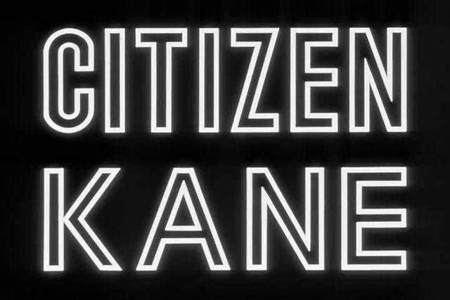 Opening sequence in Citizen Kane
