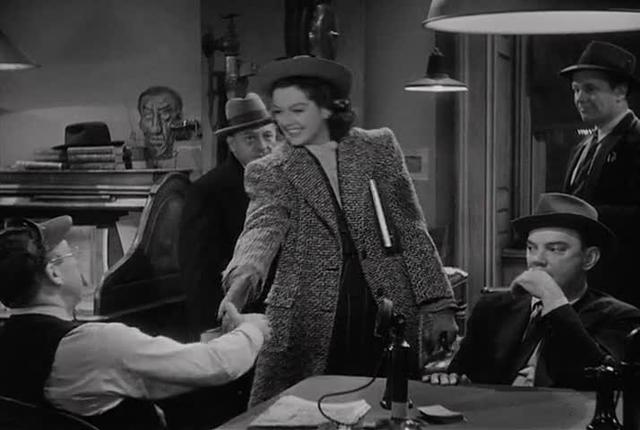 Rhythmic editing in His Girl Friday
