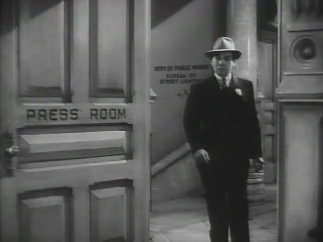 His Girl Friday (1940): Shot/Reverse Shot