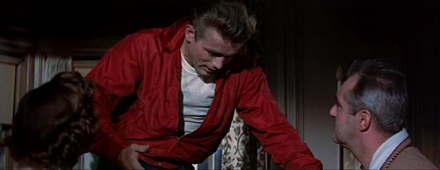 Rebel Without a Cause (1955): Argument on Staircase