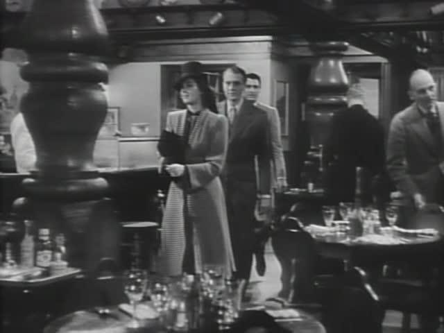 His Girl Friday (1940): Restaurant Scene