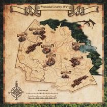 Vandalia County Map