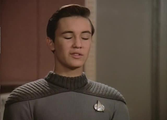 "Star Trek TNG, Contagion - ""Tea. Earl Grey. Hot."""